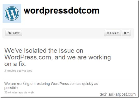 wordpress tweet