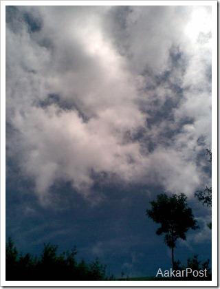 sky after rain