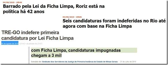 O Ficha Limpa e sua real importância…