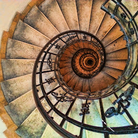 Spiral Staircase of St. Stephen Basilica by Lux Aeterna - Instagram & Mobile Android (  )