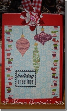 holidaygreetings card