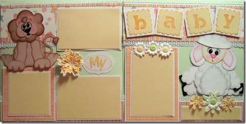 cricut lion and lamb my baby by melin