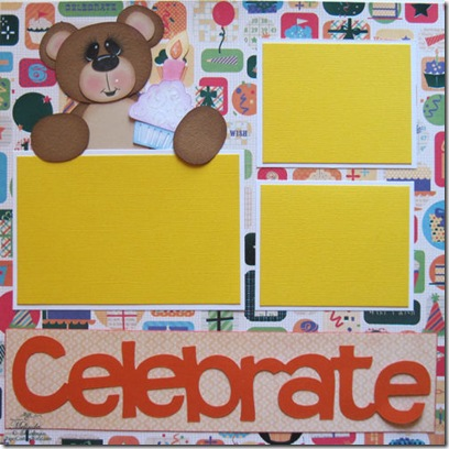cricut celebrate bear n cupcake layout 500