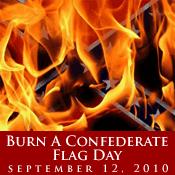 Burn a Confederate Flag Day