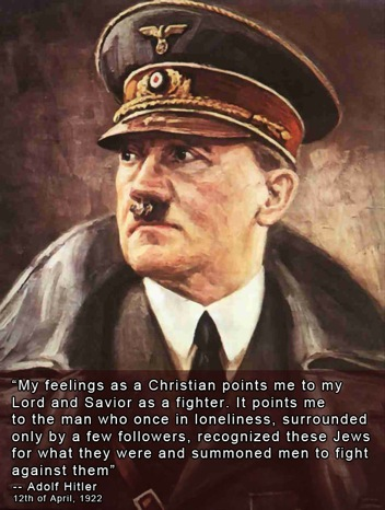 Hitler was a Christian
