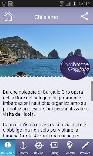 玩旅遊App|Gargiulo Boat Rental免費|APP試玩