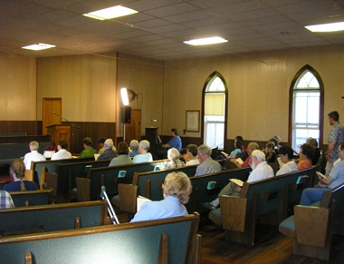Great Plains Yearly Meeting at Central City, 2008