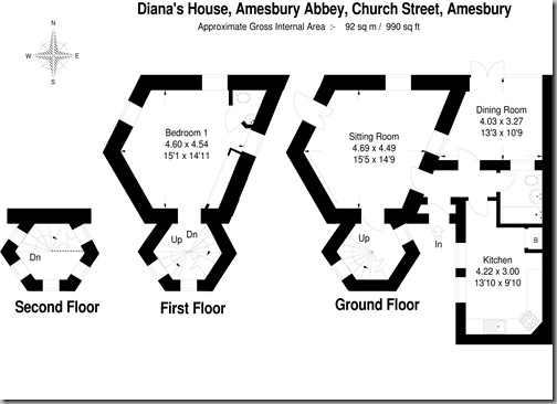 C:\FPS\11EasyCad Southern\FLOOR\KB  Southern\Jackson Stopps\Diana's House Amesbury Abbey Church Street Amesbury SP4 7EX.FCW