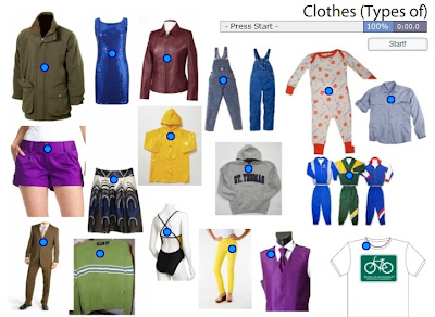Chiew's CLIL EFL ESL Blog: Classes of Clothing