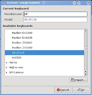 News from Planet OS-88: Laptop extra keys - HOWTO