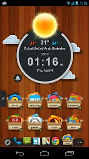 TSF Clock Widget- screenshot thumbnail