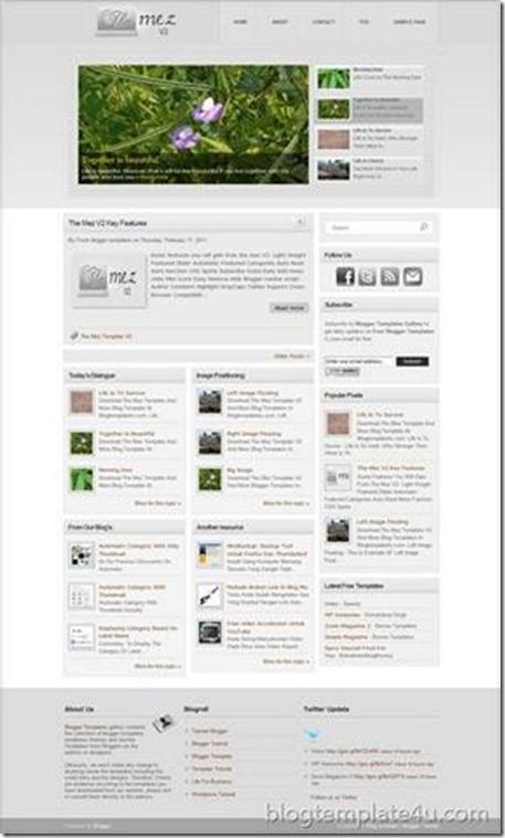 The Mez Template V2 - Free Premium Blogger Template Dari Kang Rohman