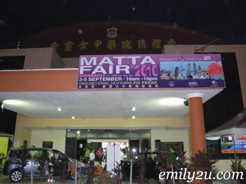 Matta Perak Travel Fair - MPTF 2010