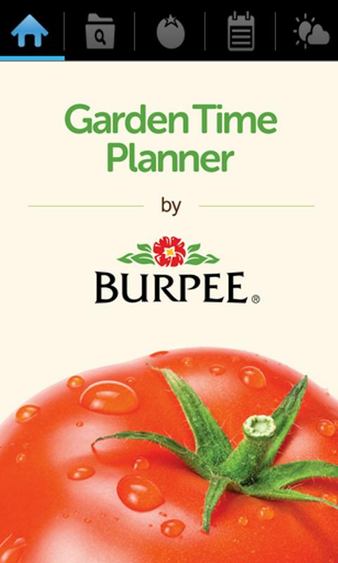 garden time planner by burpee android apps on google play. Black Bedroom Furniture Sets. Home Design Ideas