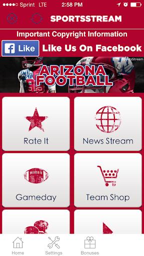 Arizona Football+