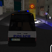 3D Police Truck Parking Game