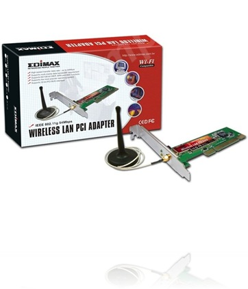 Edimax ew-7128g wireless 802. 11g pci adapter drivers, utility.