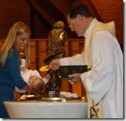 Benjamin Baptism