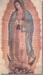 Our Lady of Guadalupe Tilma Image