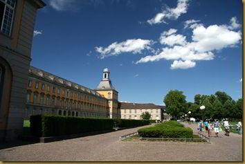 Bonn university buildings