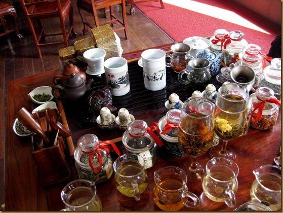 A lot of tea