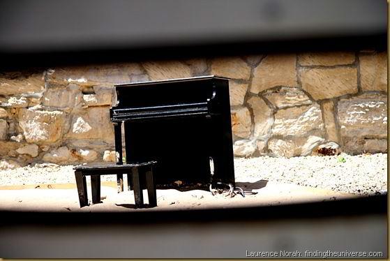 Minature piano - Tasmania - Australia