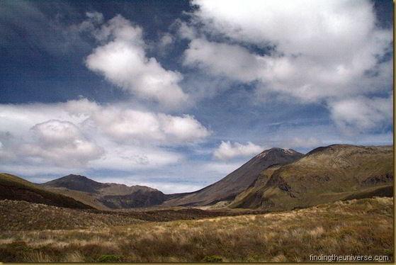 Mount Ngauruhoe on the Tongariro Alpine Crossing Track