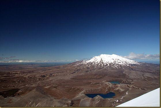 Tama Lakes from Mount Ngauruhoe
