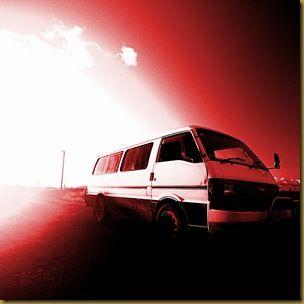 Combi Van Sunset 1