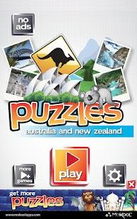 Australia Puzzle - New Zealand - screenshot thumbnail