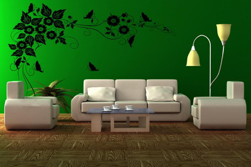 Green room painting ideas