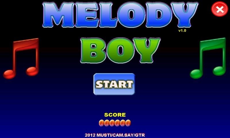 Melody Boy - screenshot