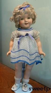 Shirley Temple doll Ideal all original composition