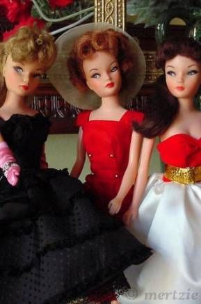 Miss Suzette doll Uneeda Mattel Barbie Silken Flame Sheath Sensation Silkstone Black Enchantment 1960s