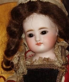 Antique bisque doll French Fashion Simon & Halbig S & H France toy shoppe 1870s Jan Foulke Guide to Dolls