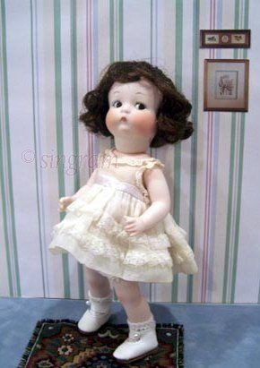 Just Me doll Armand Marseille bisque doll reproduction AM