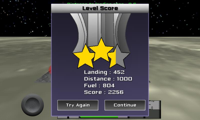 Space Lander- screenshot