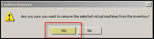 Confirm Remove