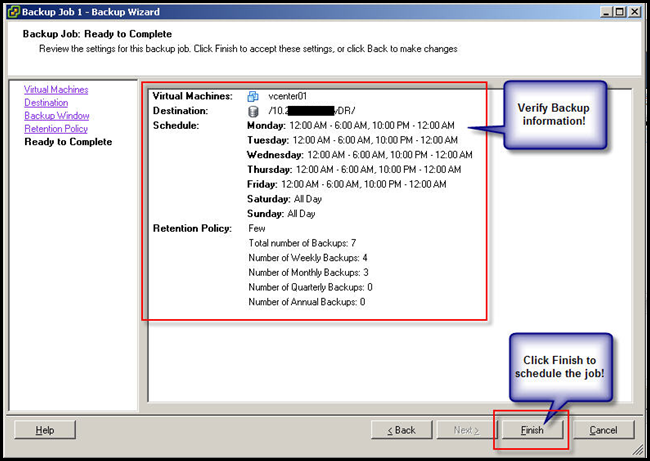 VMware DATA Recovery Image