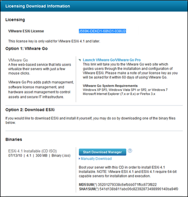 Licensing the Free ESXi | vCloudInfo