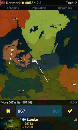 Age of Civilizations Europe Android App Screenshot