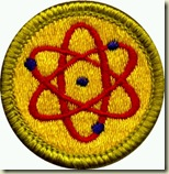 atomic energy badge