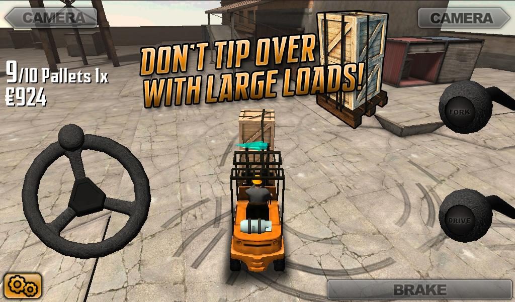 Extreme Forklifting - screenshot
