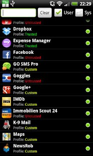PDroid Privacy Protection - screenshot thumbnail