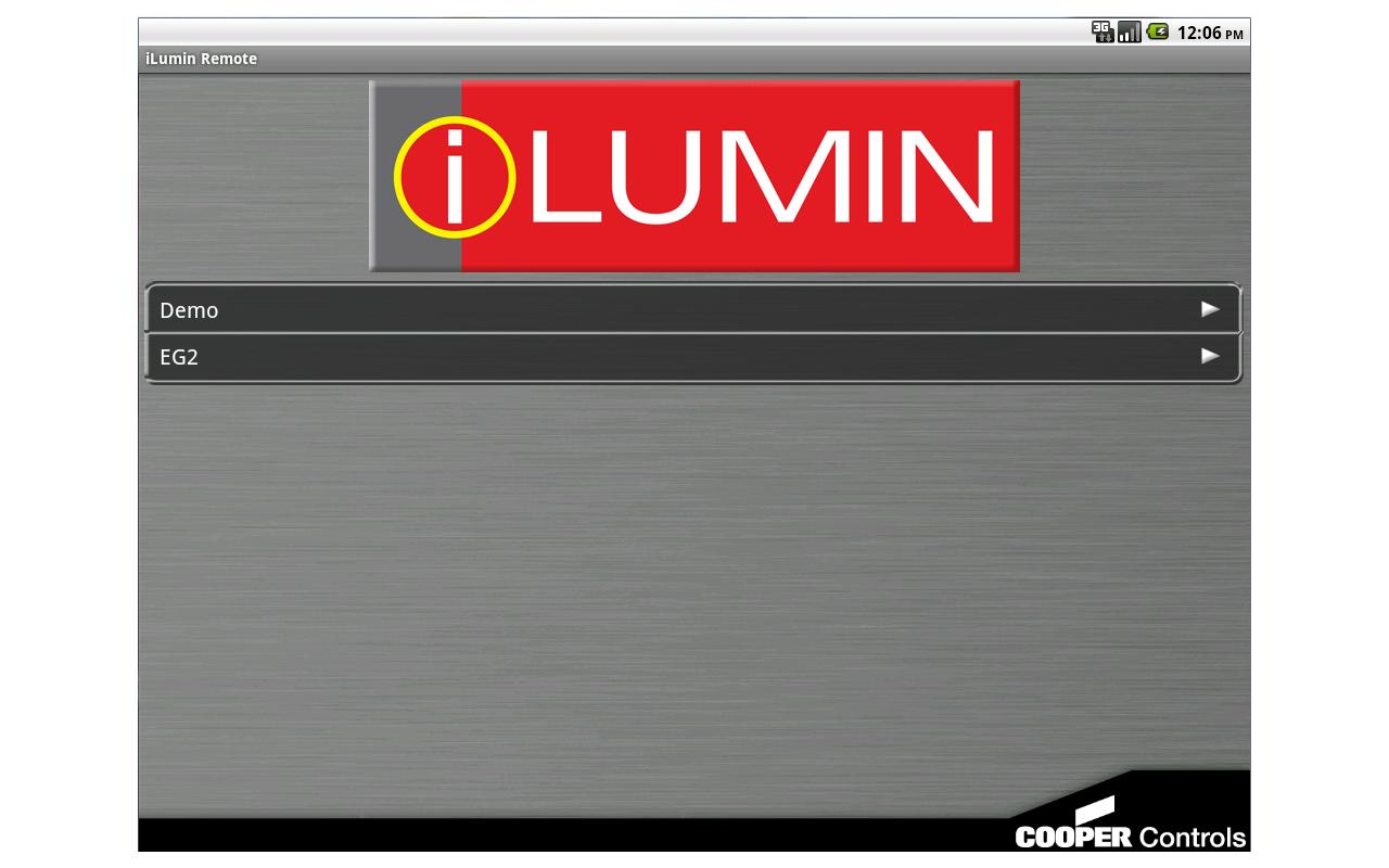 iLumin Remote- screenshot