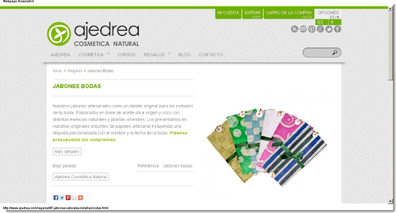 Ajedrea Cosmetica Natural screenshot 3
