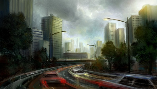 Architecture- Matte-Painting