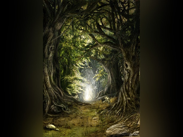 Green-forest-artwork
