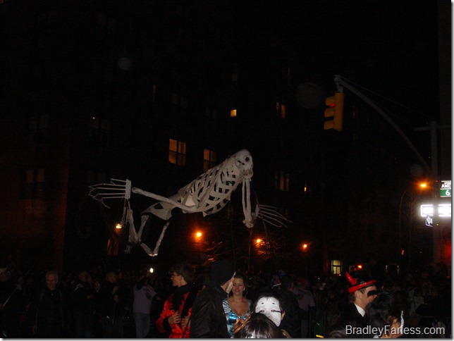 2010 New York City Halloween Parade.