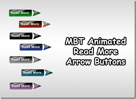 Animated Read More Buttons with Arrow heads